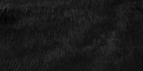 Kožešina - černá, 90 mm