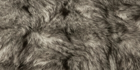 Kožešina - šedá, 75mm
